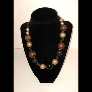 Jewelry - Chunky Wood Bead Necklace
